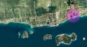 Ort-auf-Satellitenbild
